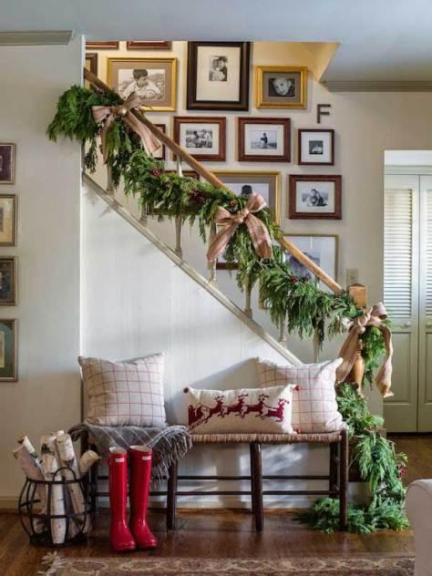 Cheerful Christmas Staircase