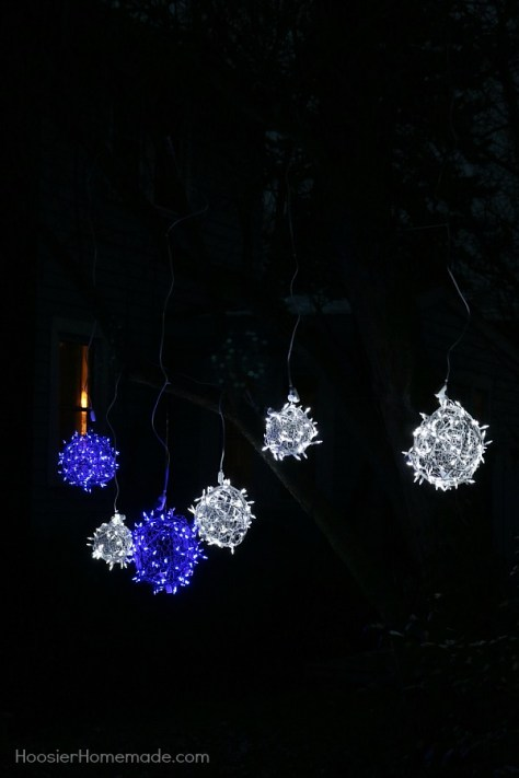 Light Balls Ornaments For Yard