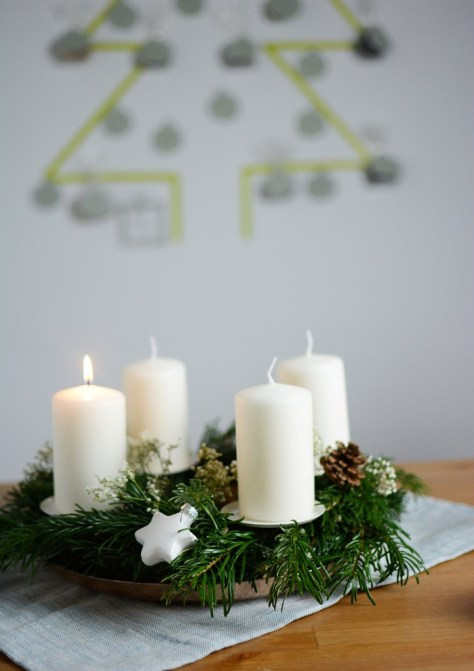Scandinavian Advent Wreath