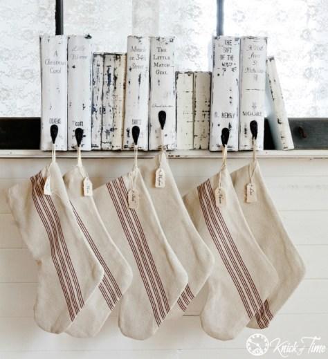 Books Stocking Hanger