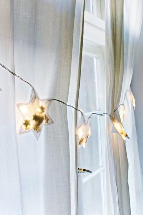 Star String Light Garland