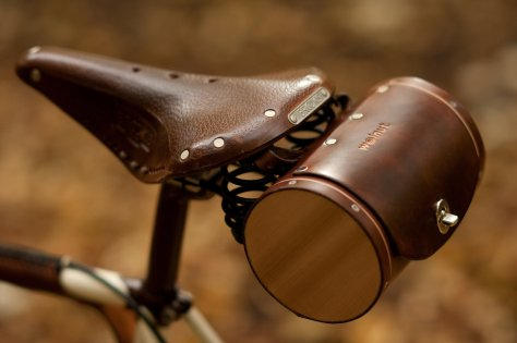 Bicycle Saddle Bag The Barrel Bag Leather