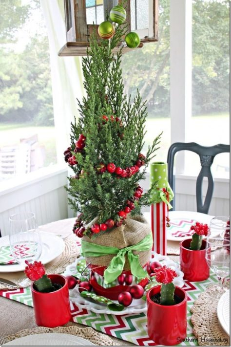 Fun and Festive Centerpiece