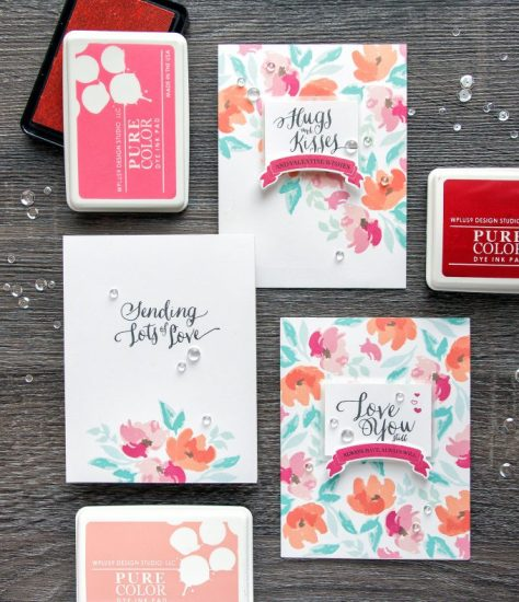 Stamped Valentine's Day Cards