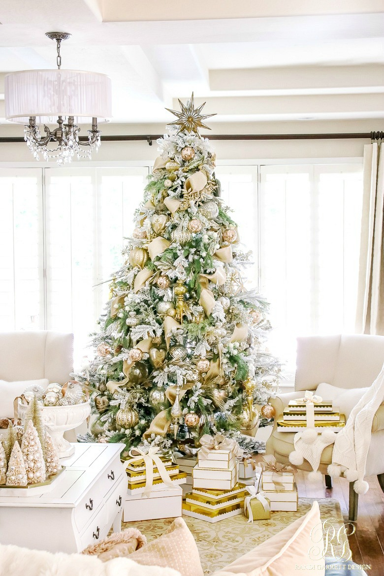 elegant christmas living room decor olive green and cream ideas 35 decoration for beautiful gold silver