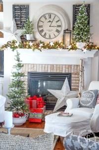 35 Living Room Christmas Decoration Ideas for Beautiful Decor
