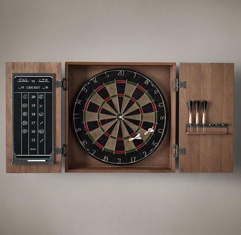 Vintage Tournament Dartboard Set