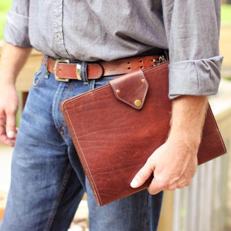 The Vanderbilt Fine Leather Portfolio