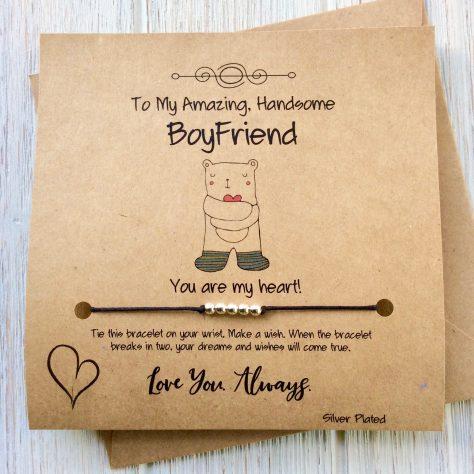 Boyfriend Wish Bracelet
