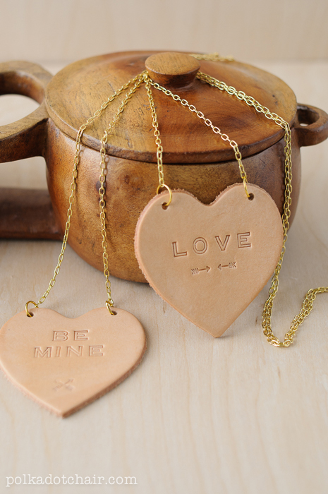 Leather Conversation Hearts