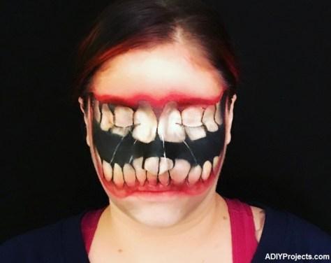 Big Mouth Halloween Makeup