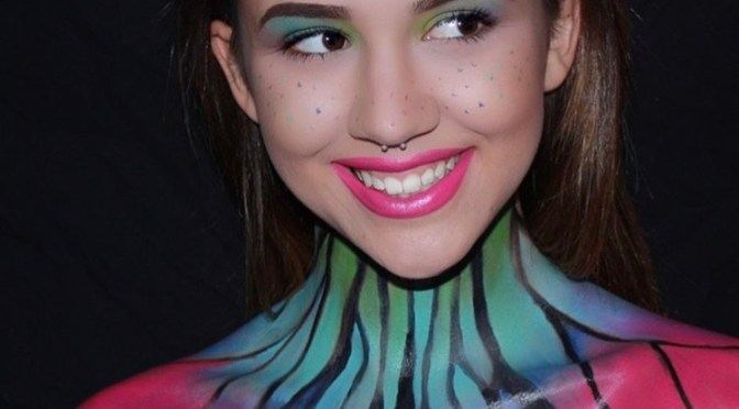 Butterfly Halloween Makeup Tutorial