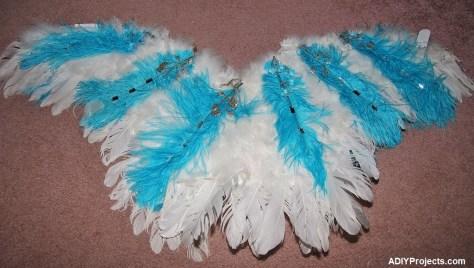 Ice Phoenixes Halloween Costume Wings