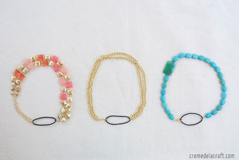 Convertible Necklace Headband