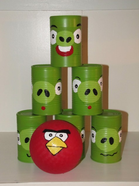Angry Birds Can Toss Game