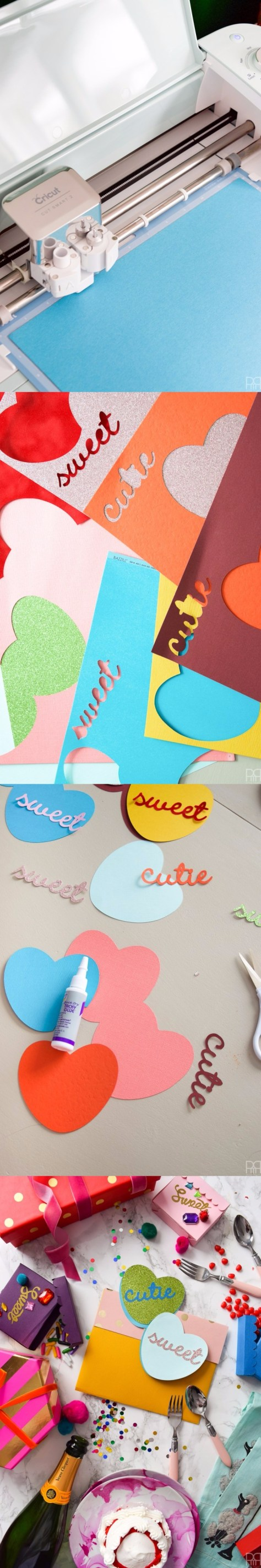 Candy Heart Cards Tutorial