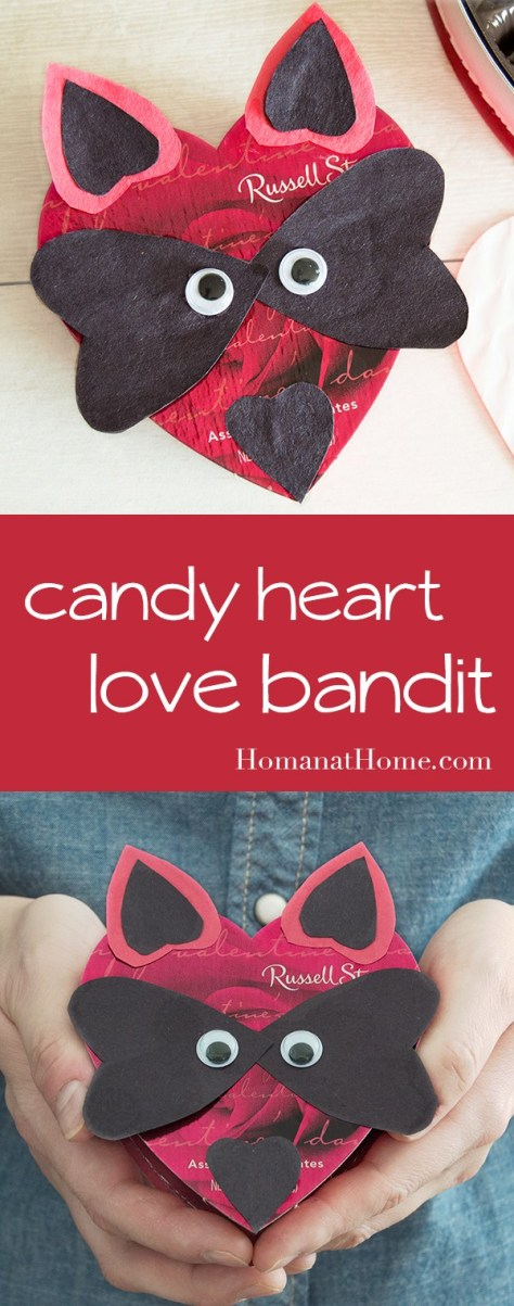 Candy Heart Love Bandit Tutorial