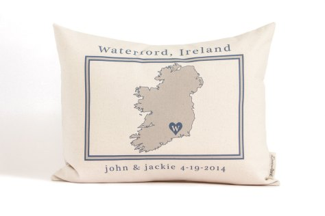 Country Map or Region Pillow