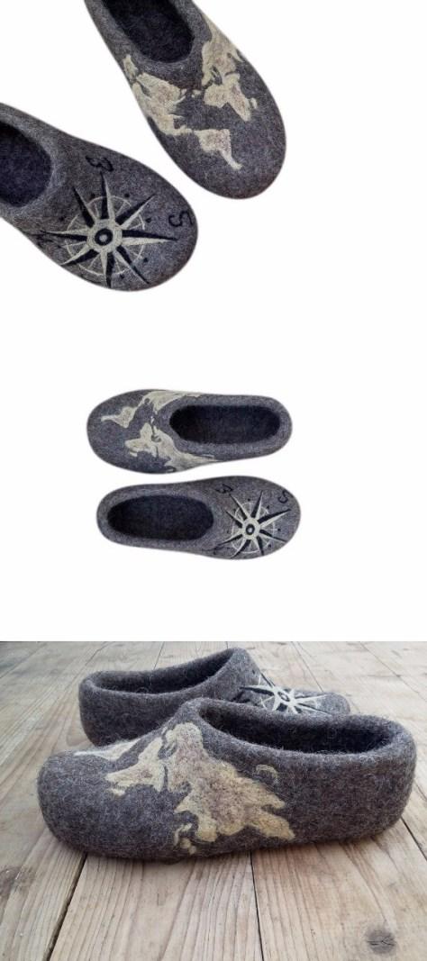 Felt Slippers For Men