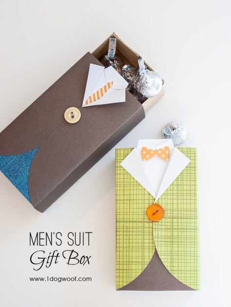 Men's Suit Gift Box