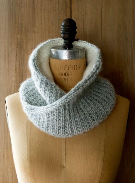 Shawl Collar Cowl
