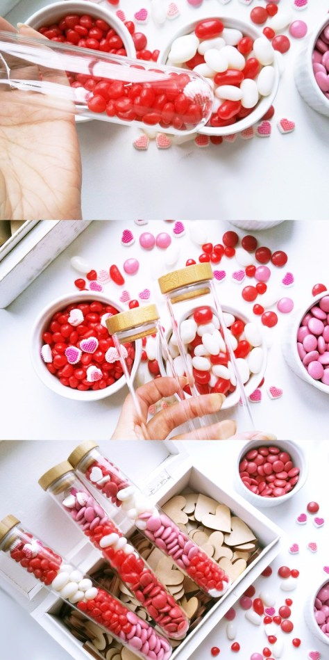 Test Tube Candy Gifts Tutorial
