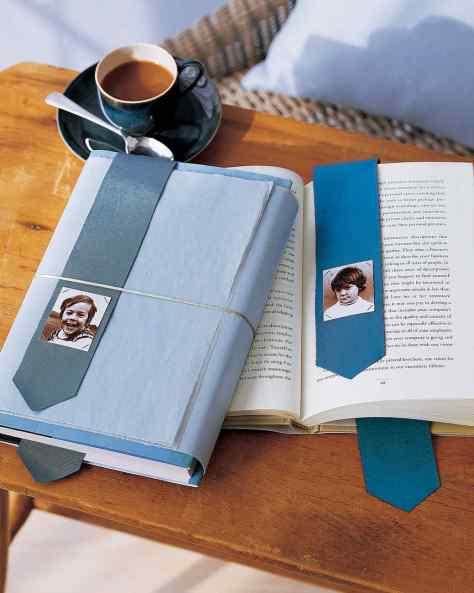 Tie Photo Bookmark