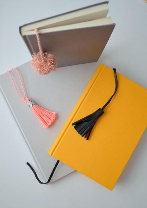 Pom Pom Notebooks Bookmark