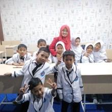 Ruangan Kelas yang mendukung proses KBM