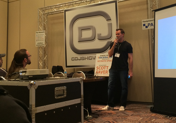 Wes Straub at CDJ Show May 2014
