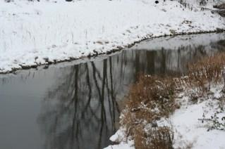 A snowy meandering (c)Gracie K. Harold 2014