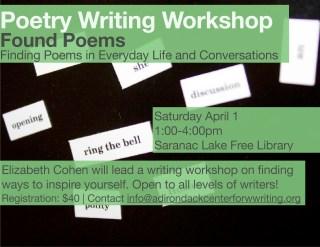 Poetry Workshop Poemvillage