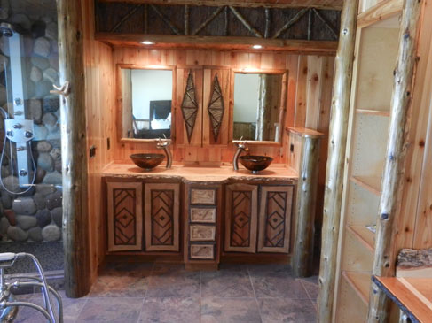 Adirondack Custom Log Homes by Eddy Enterprises Inc