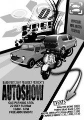 KAED Fest 2007 Autoshow