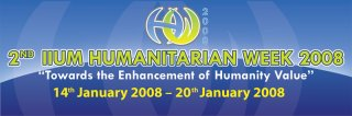 2nd IIUM Humanitarian Week