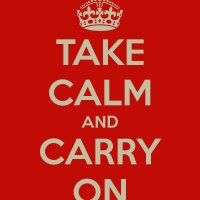 Take CALM And Carry On