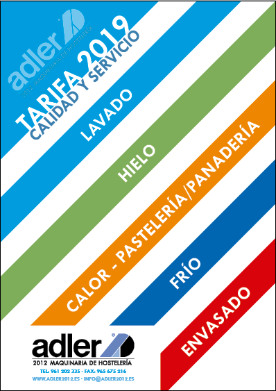 Tarifa Alder2012 - 2019