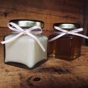 Raw & Creamed honey
