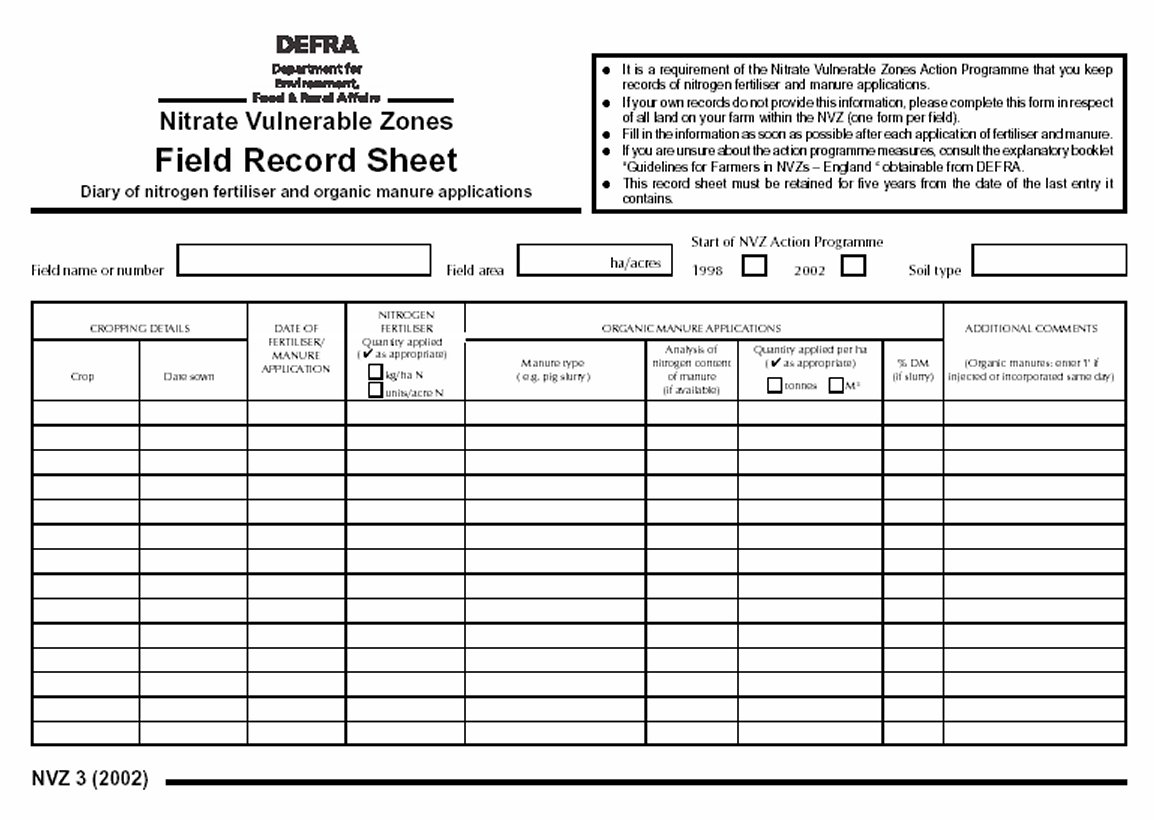 Printable Blank Record Sheets For Teachers Pictures To Pin