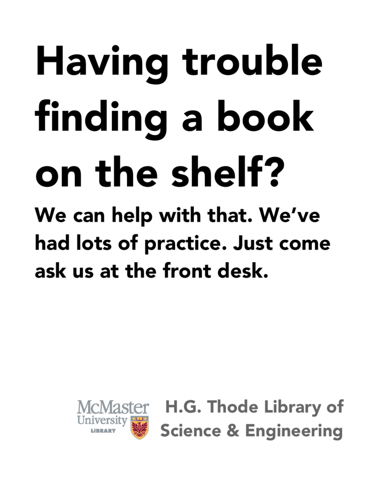 Having Trouble finding a Book