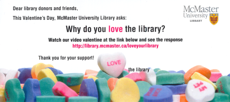 Love the Library mailout