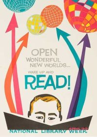 Open Wonderful New Words. / National Library Week. (Year Unknown)