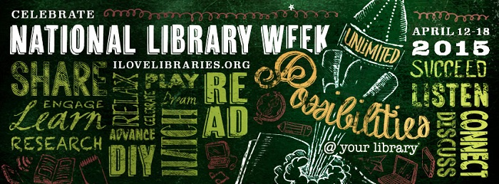 National Library Week 2015 Banner