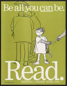 Be all you can be / National Library Week (1968) / ALA Archives