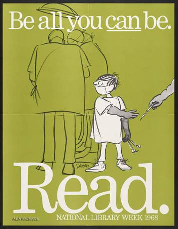 Be all you can be / National Library Week (1968)