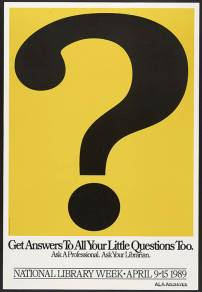 Get Answers To All Your Little Questions Too / National Library Week (1989)