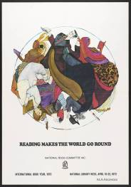 Reading makes the world go round / National Library Week (1972)