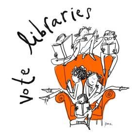 Vote Libraries 1 by Juana Medina