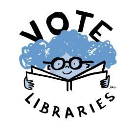 Vote Libraries 5 by Juana Medina