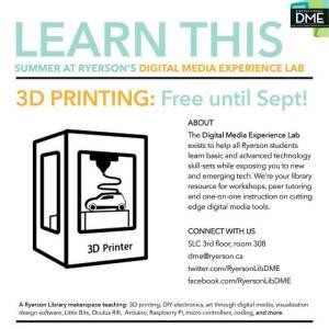 DME Instagram 3D Printing